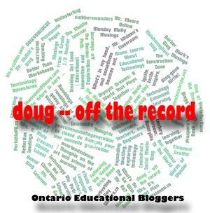 doug -- off the record
