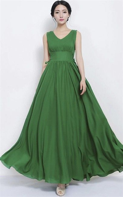 dd-Womens Dress-PUWEab5d-green RM90.00 on Mysale.my