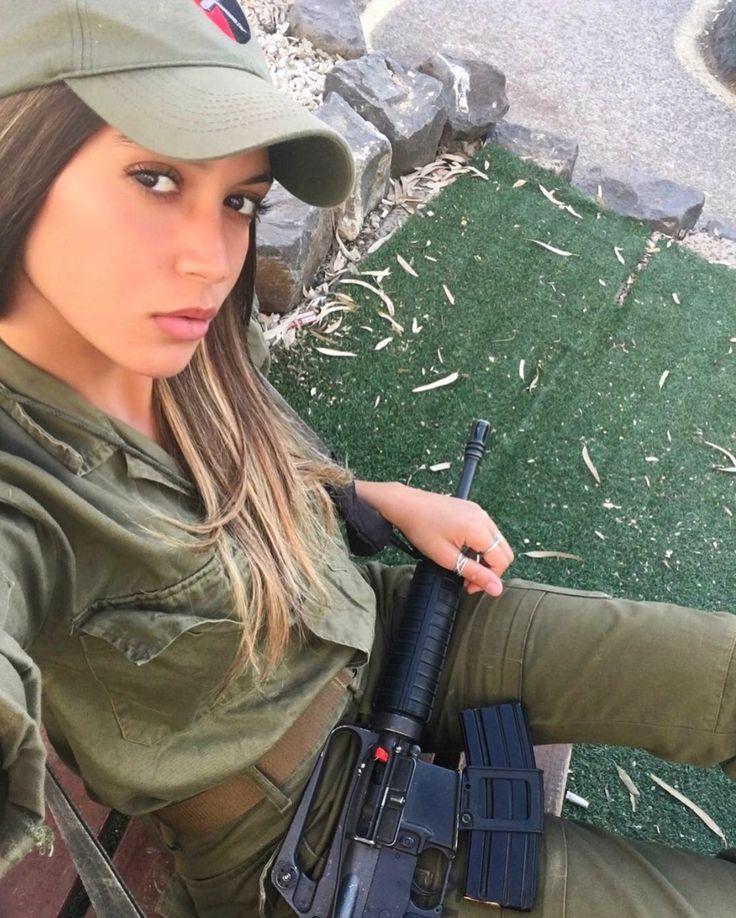 pretty military women