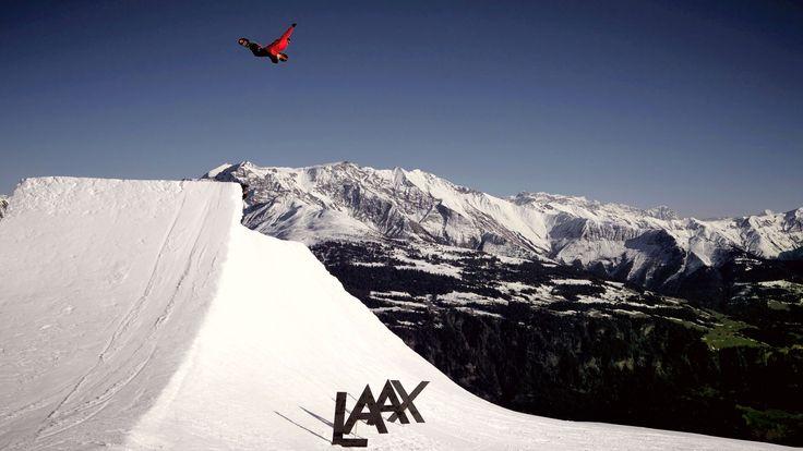 Laax ski resort: Switzerland, Europe