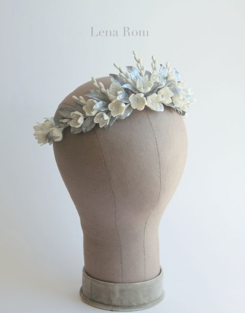floral crown / corona de novia | Lena Rom