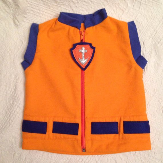 ZUMA Paw patrol inspired vest  https://www.etsy.com/listing/245852962/paw-patrol-zuma-vest-flannel-new?ref=shop_home_active_7