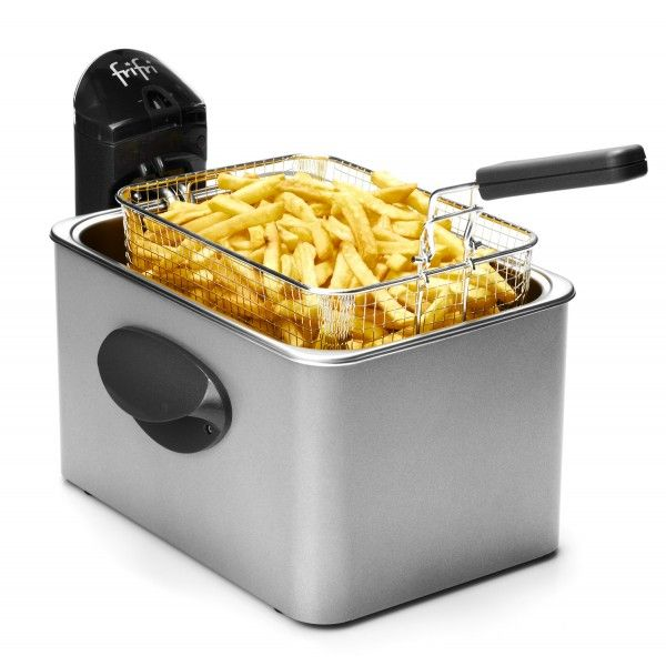 Friteuse Frifri 1948 Avec une capacité de 4,5L, la Friteuse Frifri 1948 (existe également en blanc) est la friteuse idéale pour les familles nombreuses...