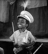"""William """"Billie"""" Thomas, Jr. (March 12, 1931 – October 10, 1980) was an American child actor best remembered for portraying the character of Buckwheat in the Our Gang (Little Rascals) short films from 1934 until the series' end in 1944. He was a native of Los Angeles, California."""
