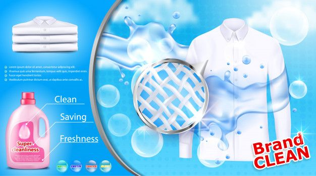 Download Laundry Detergent Advertising Poster For Free In 2020
