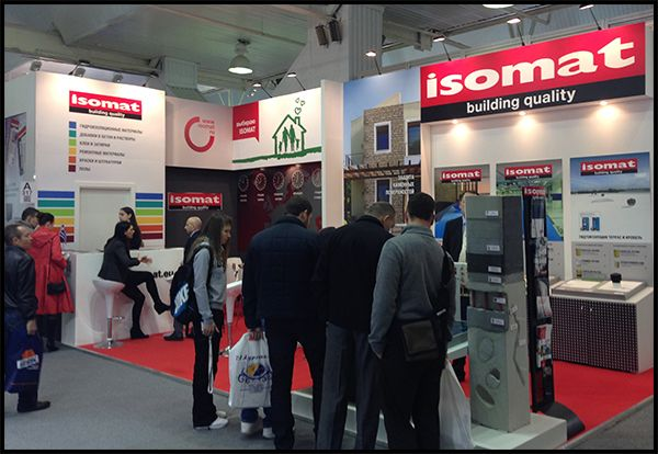 ISOMAT participated in the 25th International Architectural and Building Exhibition YugBuild, the most significant event of the construction field in Southern Russia, which is held in Krasnodar every year. The exhibition took place in the Kuban EXPOCENTER between the 25th and 28th of February, 2015.