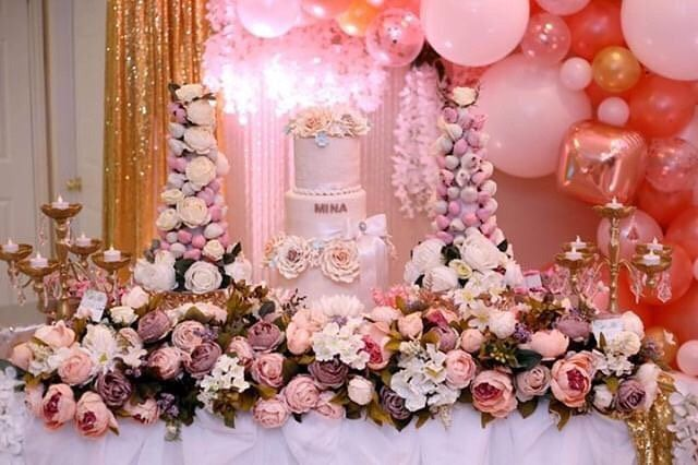 Happy Birthday Mina Bsma Events Bsmaevents Designer Flowers London London Ontario Canada To Wedding Planning Wedding