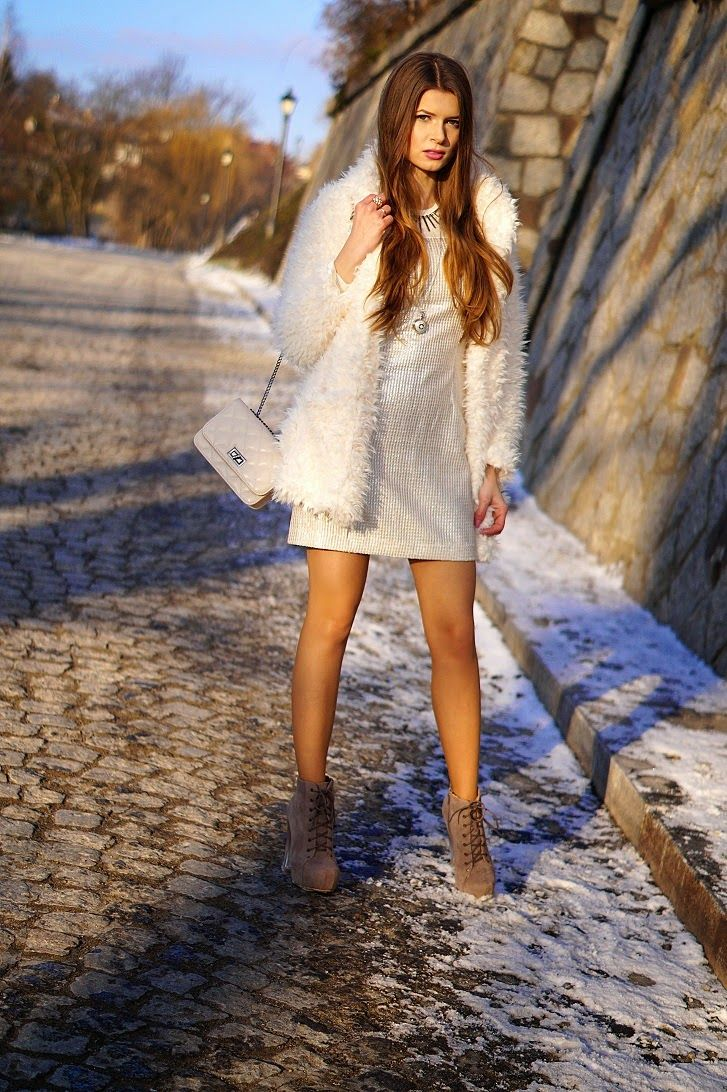 ONLY MY FASHION STYLE: WHITE & SILVER
