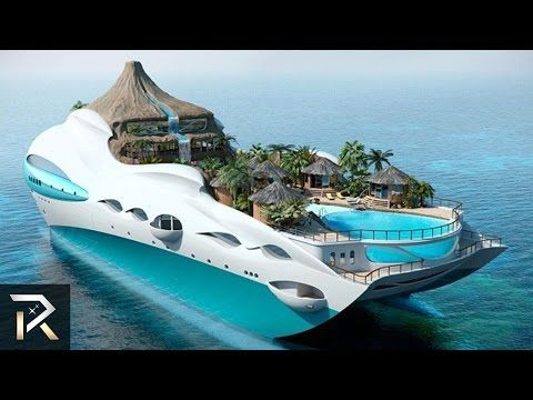 10 Unbelievable Boats Only The Richest Can Afford - YouTube
