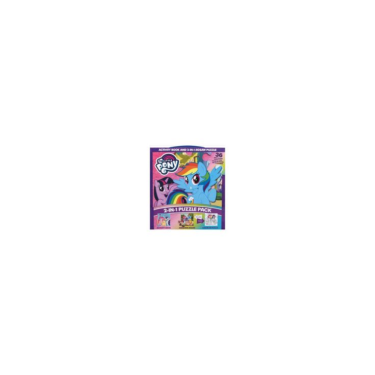 My Little Pony 2-in-1 Puzzle Pack (Paperback)