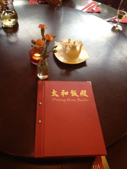 Peking-Ente in Berlin, Berlin - Traditioneller Chinese nahe der neuen Mall of Berlin mit wahrlich guter Ente'!