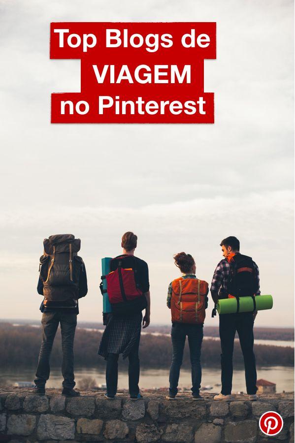 E aí, ta pensando em viajar? Confira quais são os Blogs de viagem mais Pinados do Pinterest