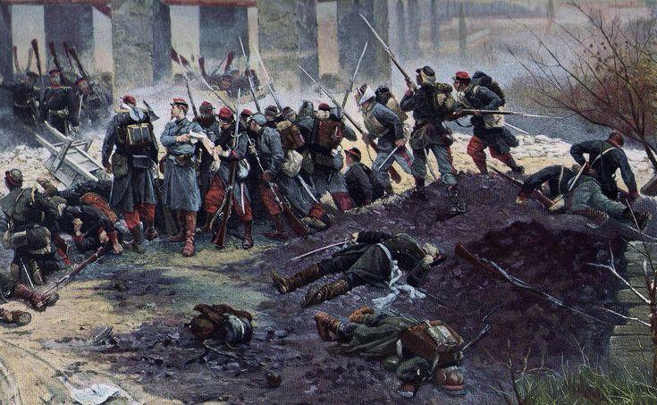 Champigny, le four à chaux (détail) - Guerre franco-allemande de 1870 — Wikipédia