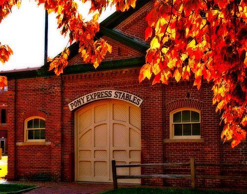 Pony Express National Museum, St. Joseph, Missouri -- where the Pony Express began,