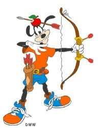 Goofy as william tell