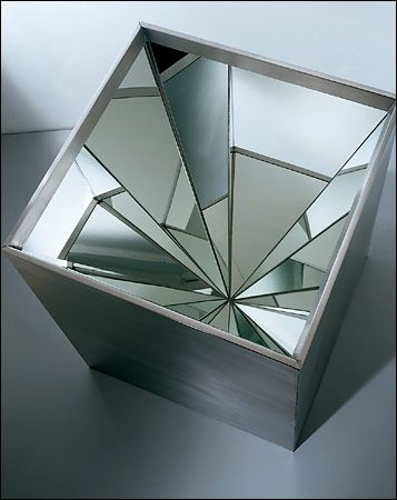 """Robert Smithson's """"Four-Sided Vortex"""" (1965)"""