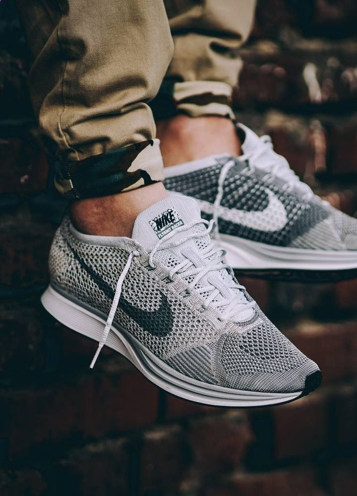 03640ef14472 Nike Flyknit Racer Pure Platinum - 2016 (by  pangeaproductions ...
