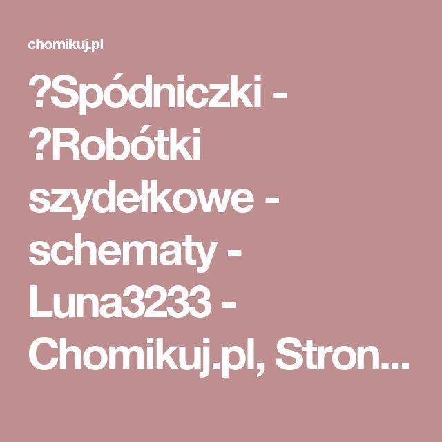 ■Spódniczki - ►Robótki szydełkowe - schematy - Luna3233 - Chomikuj.pl, Strona 2