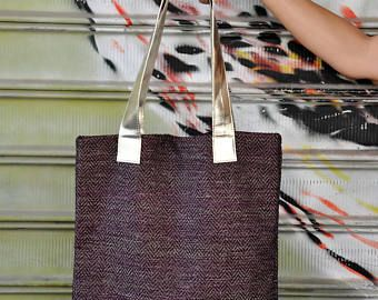 Golden tote, Maroon handbag, Laptop bag, Shopping bag, Carry on handbag, Burgundy bag, Teacher tote bag, Work tote bag, Striped tote bag