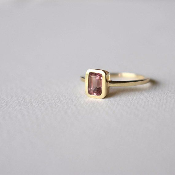 · Turmali · Turmalina & Oro 14Kt   Tourmaline Ring 14Kt Yellow Gold