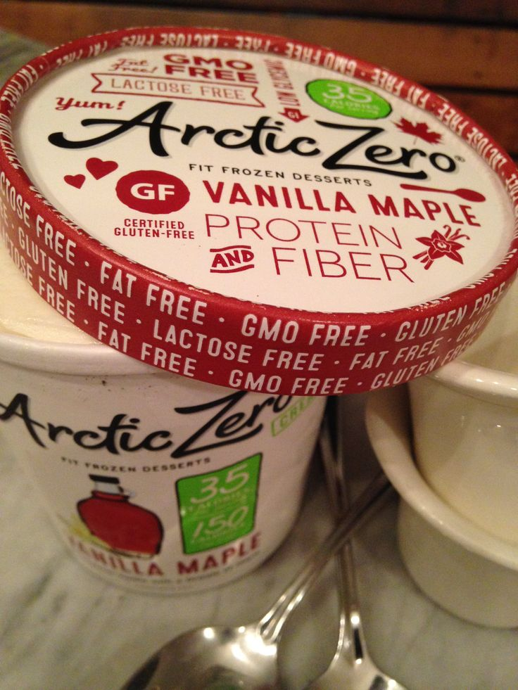 My favorite of all the Arctic Zero flavors: Vanilla Maple. Best tip: defrost it for 20 min or zap in microwave for 20 seconds for a soft-serve consistency.