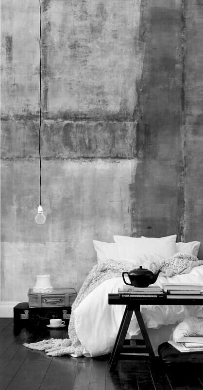 Charcoals would be good in the bedroom also - this reminds me of the space...