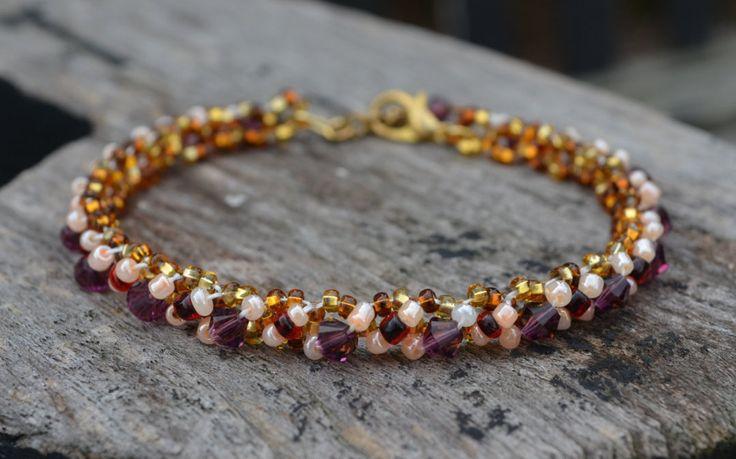 Tennis Bracelet, Amethyst Swarovski Crystals, February Birthstone Color, Birthstone Colors Jewelry, Stacking Bracelet, Jewelry By Yevga by JewelryByYevga on Etsy https://www.etsy.com/listing/250206067/ #amethyst #tennis #bracelet