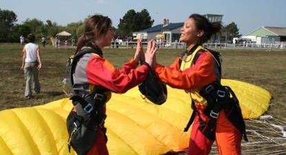 Saut parachute tandem près de Saint-Lô