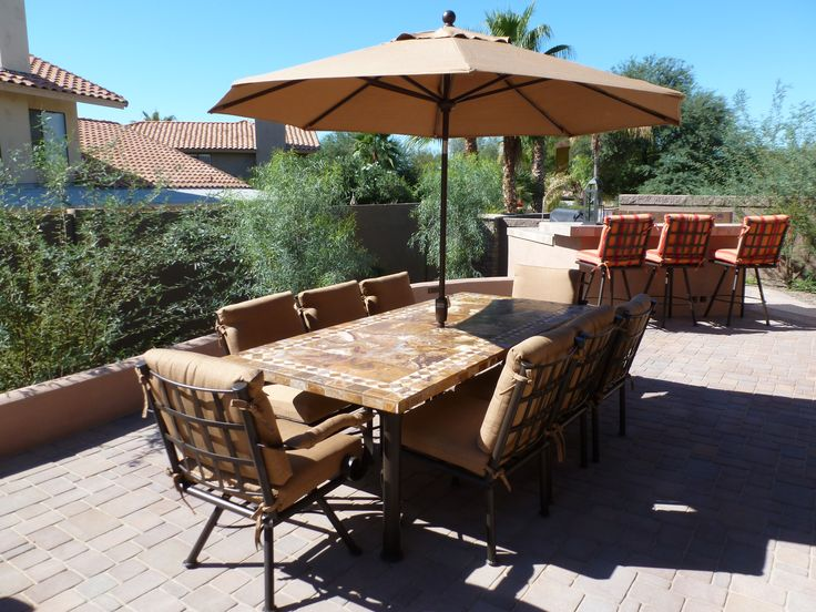 about iron patio furniture crafted in phoenix arizona on pinterest
