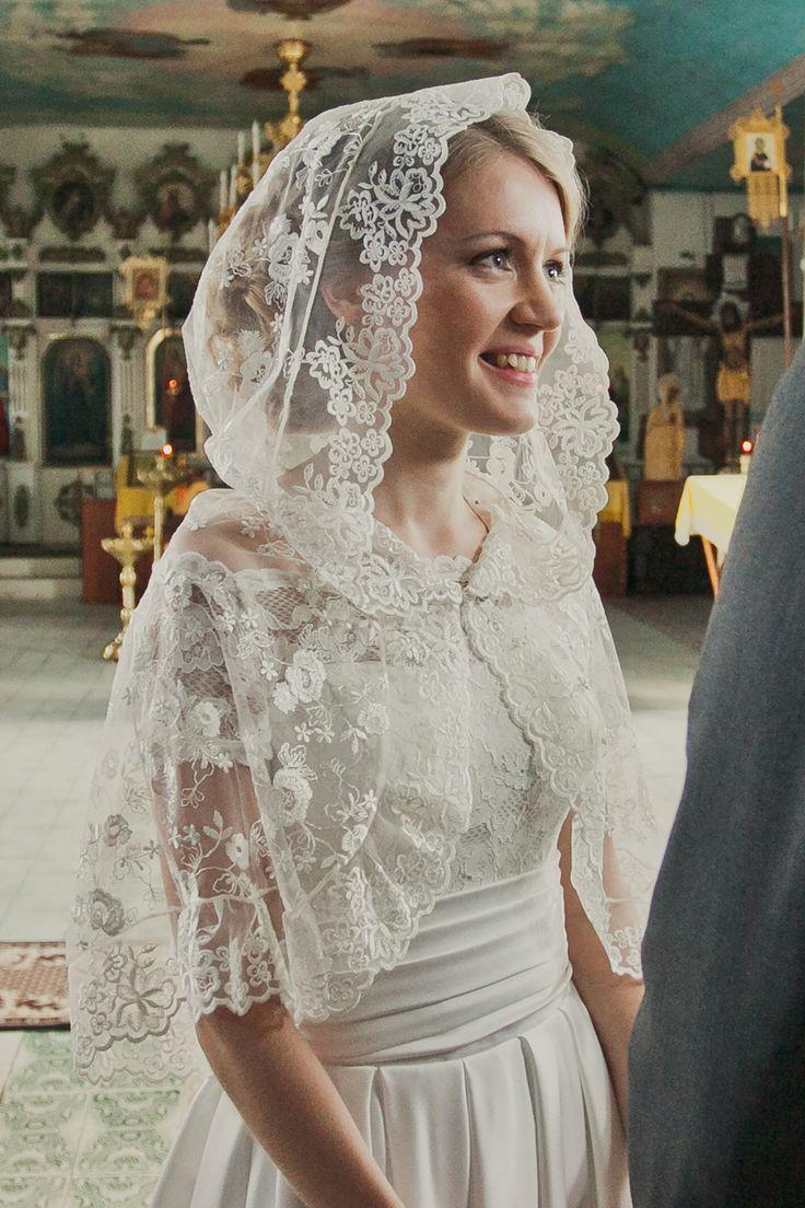 картинка Капор для венчания (001) магазин Дикона являющийся официальным дистрибьютором в России