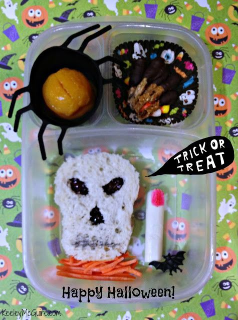 Lunch Made Easy: Happy Halloween! Fun School Lunch Ideas for Kids