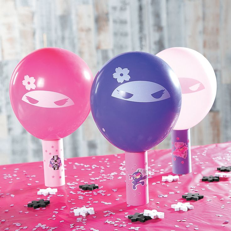 Pink+Ninja+Throwing+Star+Game+Idea+-+OrientalTrading.com