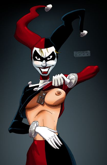 Czajnik's Workshop: Harley Quinn (it's a trap!)