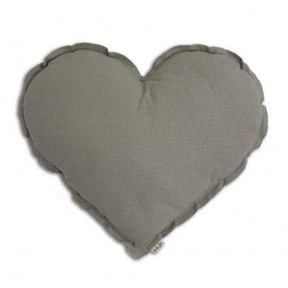 Cojín Corazón Gris Claro  Numero 74
