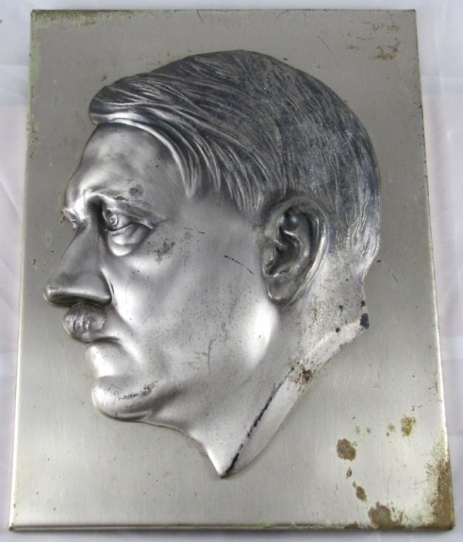 relief gabinetowy ADOLF HITLER oryginał III RZESZA