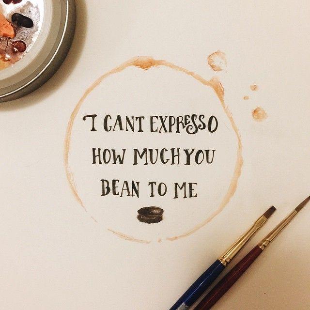 coffee puns!
