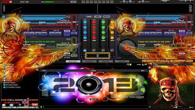 descarga Skin Virtual dj 2013 Personalizado by Dj Méndez ~ Descargar pack remix de musica gratis   La Maleta DJ gratis online