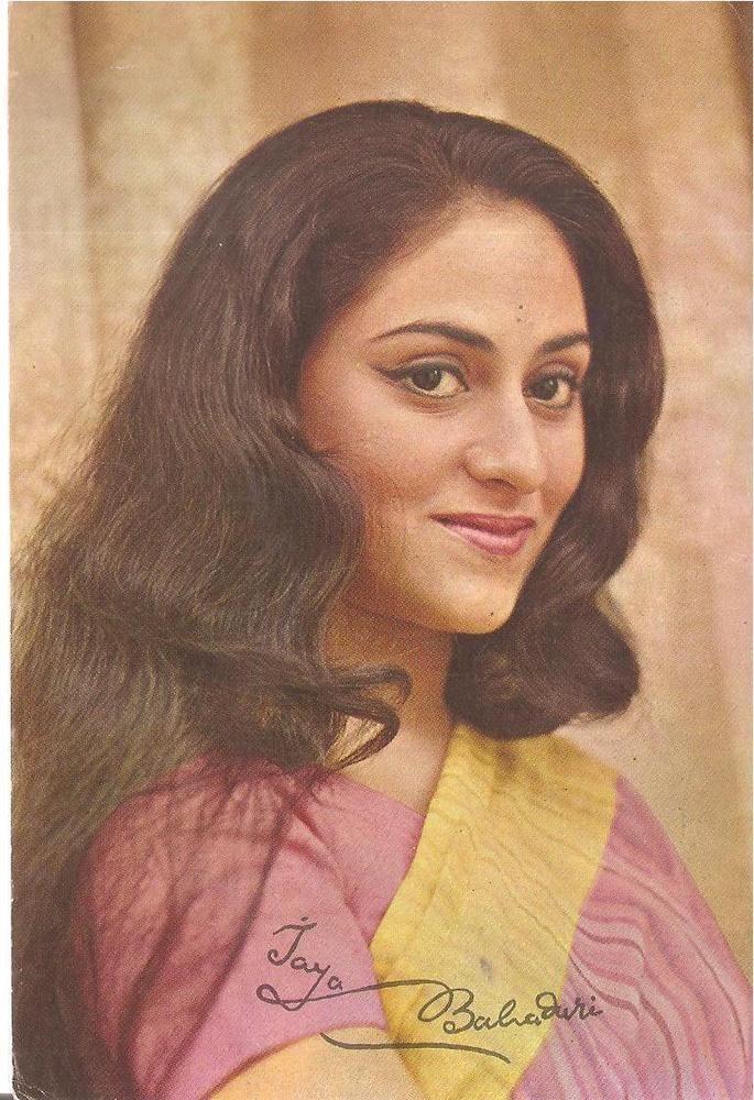 SIGNED FILMY BOLLYWOOD Memorabilia ppc Legendry Jaya Bhaduri Bachchan GUDDIE