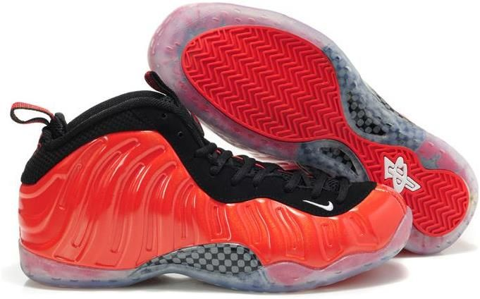 Air Foamposite One Red Black Grey White
