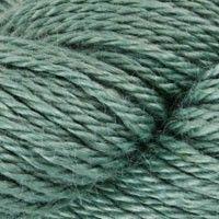 Alpaca Silk in Sapphire is a pretty choice for my Boho Eternity Scarf.
