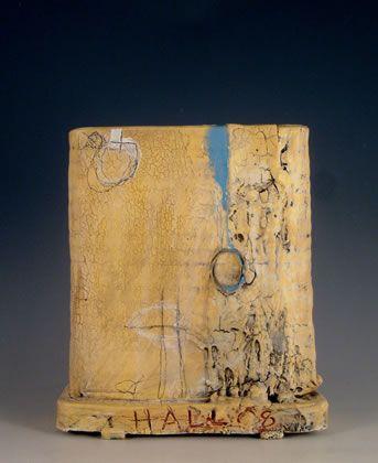 Sam Hall    Ceramic , 21cm x 26cm