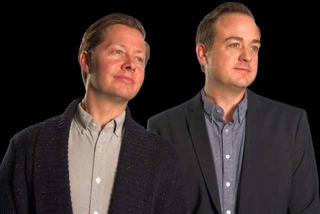 #PeterOldring and #PatKelly are the brains – and voices – behind #ThisIsThat, CBC Radio.  The Yukon Arts Centre  on Oct. 13 https://loom.ly/JrVa6Is