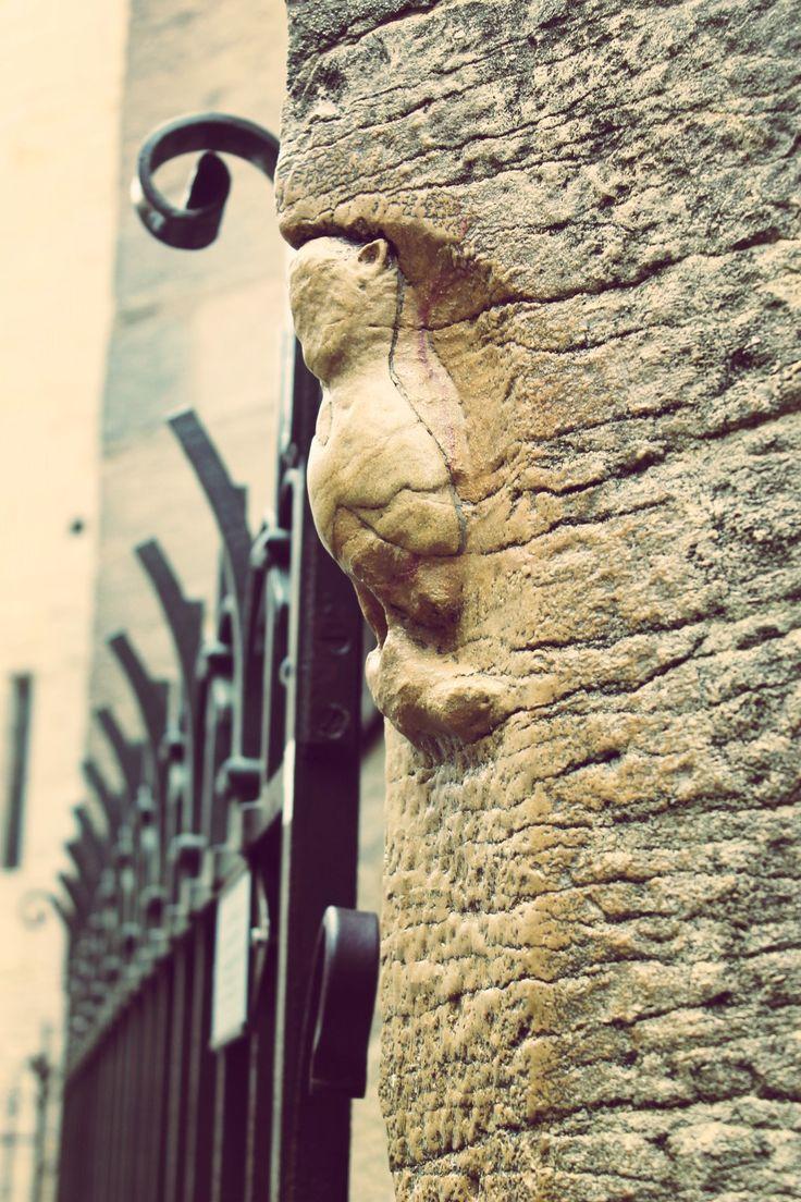 La fameuse chouette de Dijon La toucher de la main gauche  faire un vœux