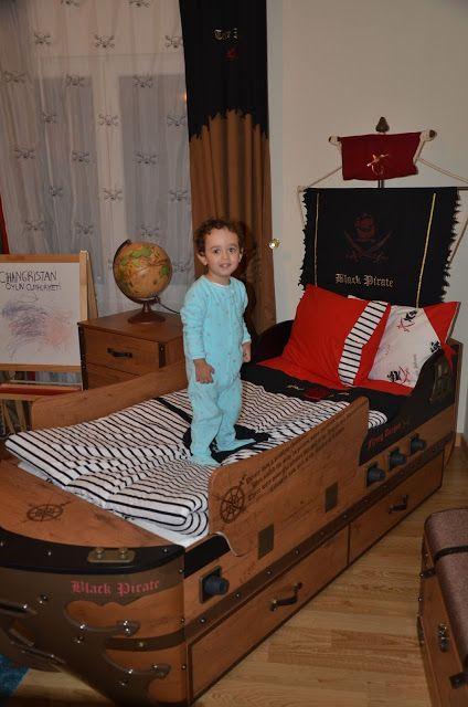 PINAR YARGICI: CİHANGİR'İN KORSAN TEMALI ÇOCUK ODASI & YERLEŞİM A...
