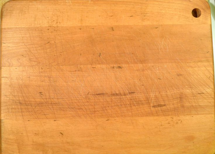 Large wood (not bamboo or plastic) cutting board. This blog post explains why.