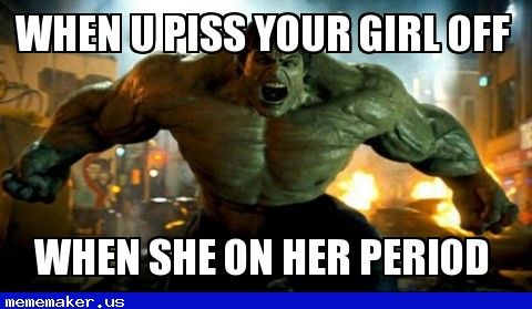 Cool Meme in http://mememaker.us: Pissed girlfriend