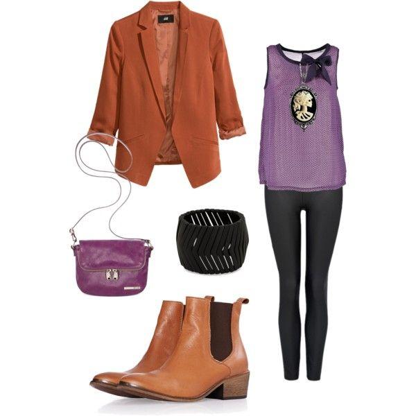 Purple tan