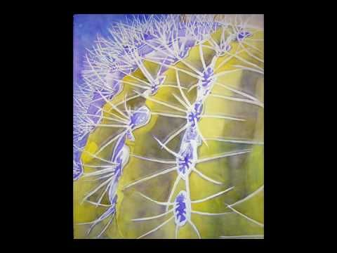 How To Paint A Barrell Cactus In Watercolor By Lori Andrews Video - Mp3, Lyrics, Albums & Video