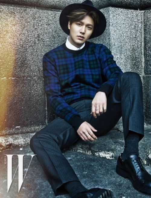 Lee Min Ho for W Korea