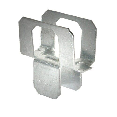 Shop Usp 1 2 In 20 Gauge Wood To Wood G90 Galvanized Angle 25 Pack In The Angles Straps Section Of Lowes Com In 2020 Plywood Clips Galvanized Steel Steel